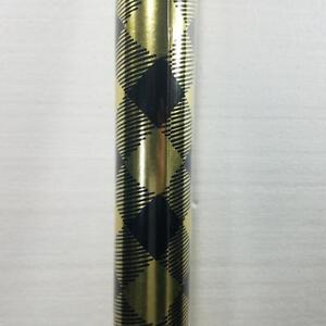 Wrapping Paper Roll Christmas 45 Sq Ft Silver Snowman Gold Deck The Halls Plaid