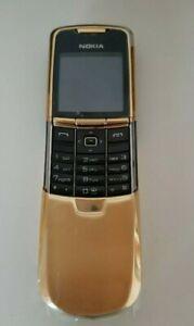 TELEFONO CELLULARE NOKIA 8800 GSM GOLD ORO FOTOCAMERA LUXURY PHONE.
