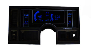 1984-1987 Buick Regal Digital Dash Panel Blue LED Gauges Made In The USA