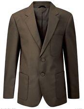 91.4cm-132cm Hombre Formal chaqueta casual negro REAL VERDE BOTELLA GRANATE