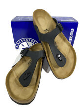 Birkenstock Gizeh BS Men's Size 10(EU43)Reg Fit Black Birko-Flor Sandals KB-1906