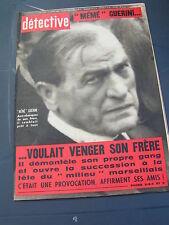 Détective 1967 1103 CHALON SUR SAONE FEUQUIERES VIMEU ROVE VAULX EN VELIN