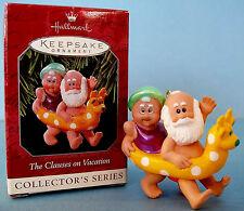 1998 Hallmark Santa Mrs Claus on Vacation Christmas Keepsake Ornament Clauses