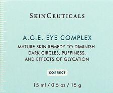 SkinCeuticals AGE A.G.E. Eye Complex 0.5oz(15ml)  BRAND NEW