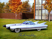 1964 Cadillac XP-74 Cyclone Concept car 8 x 10 Color Photograph