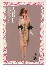 """Barbie Collectible Fashion Trading Card  """" Evening Splendour """"  1959"""