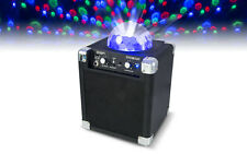 ION Audio House Party Bluetooth Speaker with Disco Ball light karaoke RRP $159