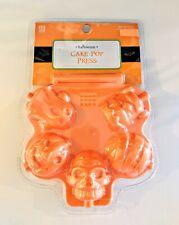 Halloween Cake Pop Skull Spooky Pumpkin Ghost Frankenstein Mummy Silicone Mold