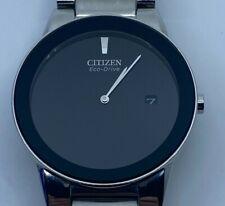 CITIZEN Axiom Eco-Drive Black Dial Men's Watch AU1060-51E