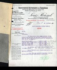 """PARIS (XIX°) CARRIERE de ST-BRICE-en-COGLES (35) Granit Grés """"Louis ROUSSEL"""""""