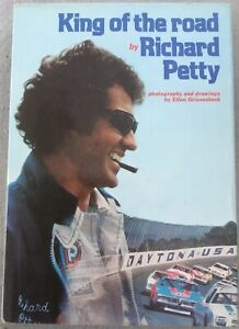 Richard Petty (king Of The Road) Signed