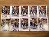 Lot of 1990 Fleer Magic Johnson Cards #93 Los Angeles Lakers 10 Card Lot
