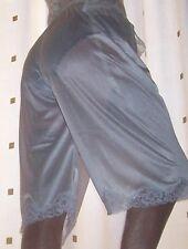White vintage style soft nylon pantie slip~pettipants~culottes size 20~22 No Vpl