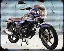 Bajaj Discover 135 09 02 A4 Metal Sign moto antigua añejada De