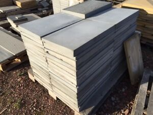 Coping Stones - 30nr - Once Weathered - Light Grey - 300 x 600mm