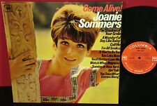 JOANIE SOMMERS Come Alive! 2 EYE MONO Classic Female Pop / Rock Vocal LP