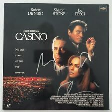 Robert De Niro Signed Casino Japanese Laserdisc Actor Goodfellas Taxi Driver Rad