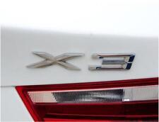 E690 X3 Emblem Badge auto aufkleber 3D Schriftzug Plakette car Sticker Chrom