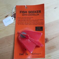 Vintage Fish Seeker Fish Lure or Bait Depth Controller made in Ca Usa (lot#8443)