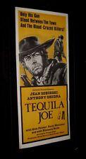 Original TEQUILA JOE Australian South Pacific Daybill JOE SOBIESKI Bojanic-Gidra