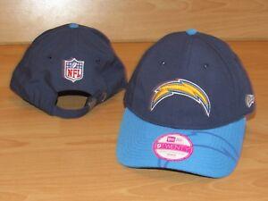 Los Angeles Chargers New Era 9Twenty On Field Strapback Hat Cap Women's