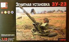 1/72 Anti-Aircraft Gun System Zu-23 model kit with photo-etched set