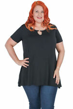 Polyester Evening, Occasion Machine Washable Solid Tops & Blouses for Women