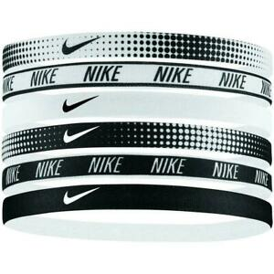 NIKE Printed Headbands Assorted 6PK / One Size , 6 Colours