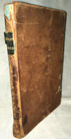 "1839 ""Elements of Logick"" Levi Hedge Full Leather Stereotype Edition"