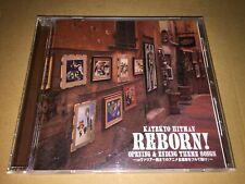 Katekyo Hitman Reborn! Opening & Ending Theme Songs Japan Anime CD
