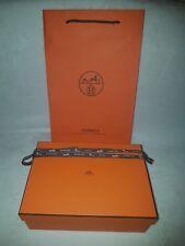 9e0dced46a2c Boîte vide Hermès, sac, ruban, papier de soi pour chaussure, vêtements 31