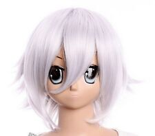 W-299 Near Death Note Ken Kaneki tous Walker Argent Silver Cosplay Perruque Wig