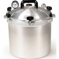 All American 921 21.5 Qt Heavy Cast Aluminum Pressure Cooker / Canner  NEW