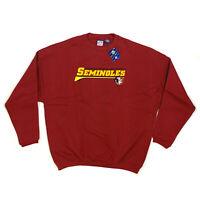 Sweatshirt Adult MAROON Florida State Seminoles FLST-70 SIZES: S, M, L, XL, XXL