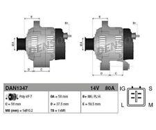 DENSO Generator   für Toyota Hilux III Pick-up Hiace IV Bus Hiace V Kasten