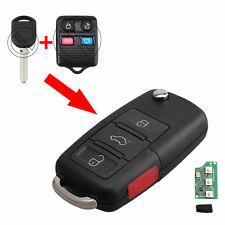 4 BTN Key Keyless Entry Remote Fob Flip For Ford Mustang Uncut 315mhz GQ43VT11T