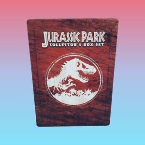 JURASSIC PARK Steelbook Collector's Box Set DVD R4 RARE Very Good Condition