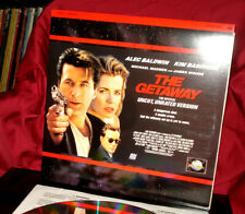 'THE GETAWAY' - Alec BALDWIN Action Hit on WS Stereo 12-inch Laser Disc, VG