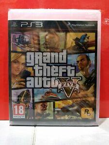Grand Theft Auto V (Playstation 3, 2013),nuovo sigillato italiano incluso