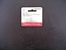 RadioShack 279-333 Telephone Handset Cord Untangler - White