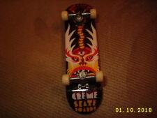 Finger Board Tech Deck CARNAVALE DE CREME Mexican theme Skateboard 1 PC used