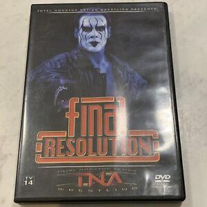TNA Final Resolution 2006 - RARE Wrestling DVD