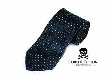 Lord R Colton Basics Tie - Coal Black Diamond Woven Necktie - $49 Retail New