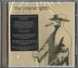 The Playwrights - English Self Storage (CD 2005) NEW SEALED Indie Rock Bristol