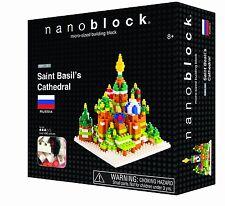 Nanoblock St. Basil Cathedral 490 Pcs Building Block S.58162