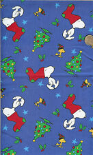 OOP! SNOOPYRED STOCKING ON BLUE - RELEASED 2001 - FQ - 18