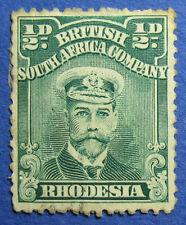 1913 RHODESIA 1/2d SCOTT# 119 S.G.# 187 UNUSED                           CS09774