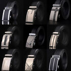Fashion Waist Men Belt Automatic Buckle Mens Belts Genuine Leather Waistband New