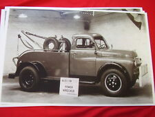 1949 DODGE TOW TRUCK  11 X 17  PHOTO /  PICTURE