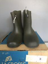 La Crosse Rubber Waterproof Over Shoe Boots Mens Size 8